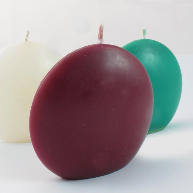 Malaika-candele-ovali-grandi-viola