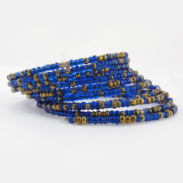 Malaika-bracciale-blu-oro-2