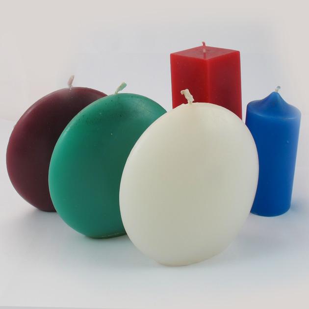 Malaika-candele-rotonde-grandi-insieme