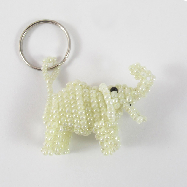 Malaika-portachiavi-elefante-bianco