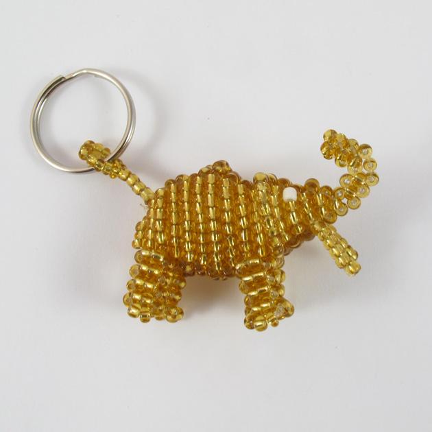 Malaika-portachiavi-elefante-oro-4