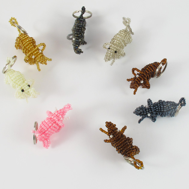 Malaika-portachiavi-elefanti-insieme