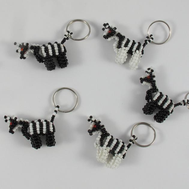 Malaika-portachiavi-zebre
