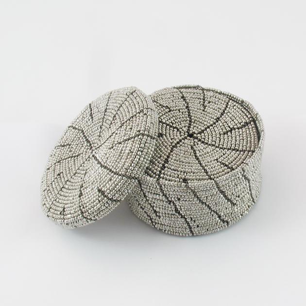 Malaika-scatole-perline-argento